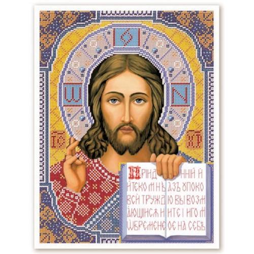 """Набор для вышивки иконы бисером """"Христос Спаситель"""""""