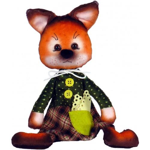 """Набiр для шиття м'якої іграшки """"Лисеня"""""""
