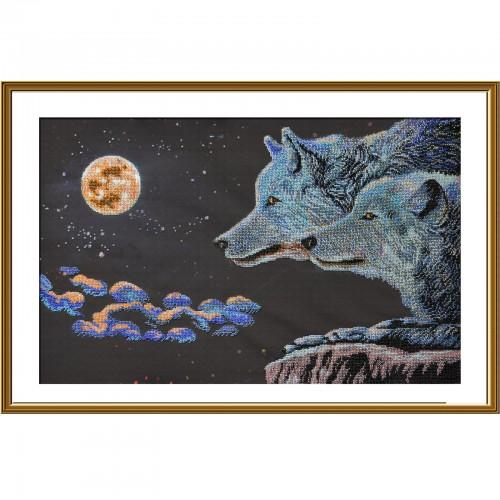 """Набор для вышивки бисером """"Лунная ночь"""""""