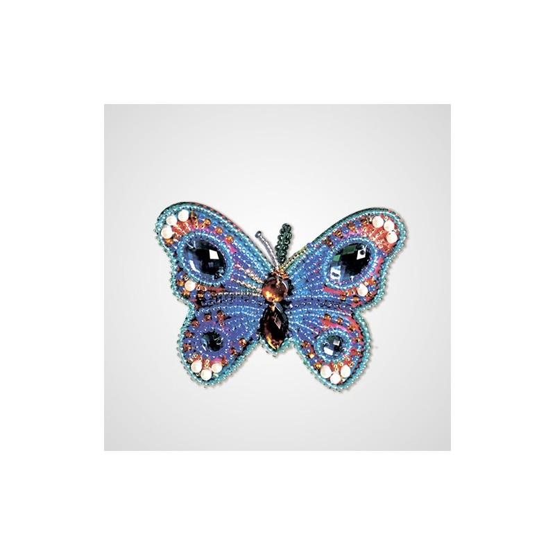 Nova Sloboda - Набір для креативного рукоділля «Блакитний метелик» / фото №4387