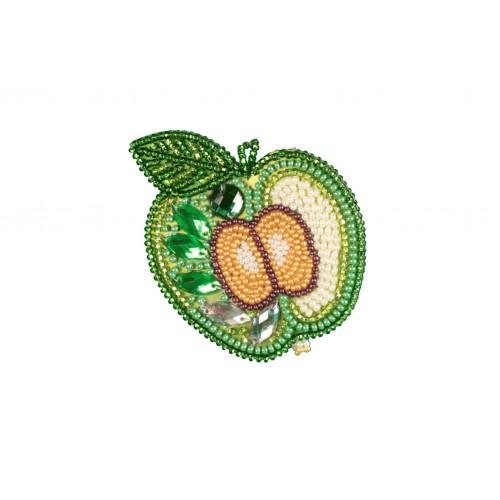 """Набор для креативного рукоделия """"Зелёное яблоко"""""""