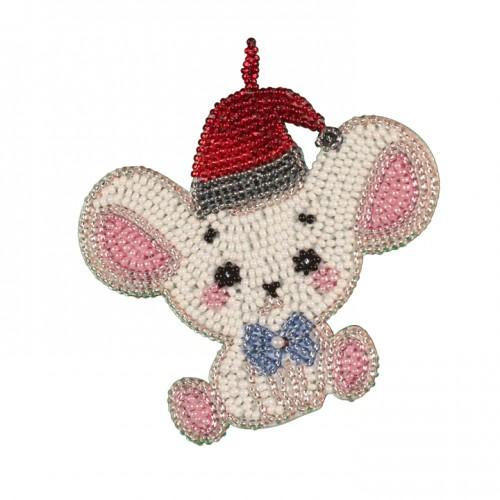 Набір для креативного рукоділля «Мишеня біленьке»
