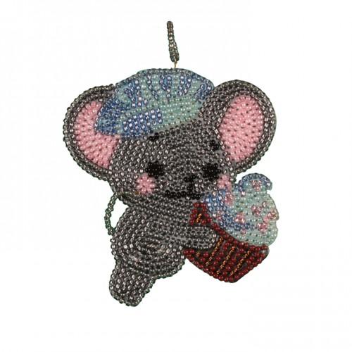 Набор для креативного рукоделия «Мышонок с кексиком»
