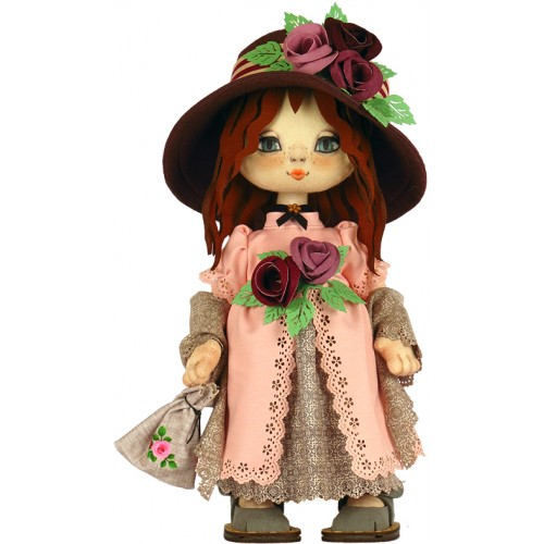 """Набор для шитья куклы """"Девочка Англия"""""""