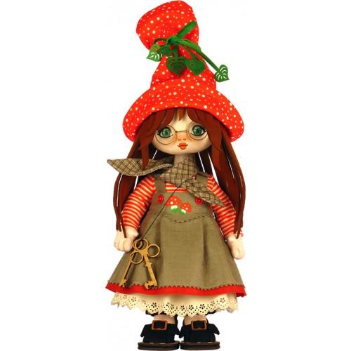 """Набір для шиття ляльки """"Дівчинка. Данія"""""""