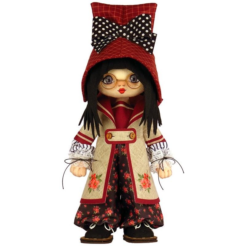 """Nova Sloboda - Набор для шитья куклы """"Девочка. Швеция"""" / фото №4773"""