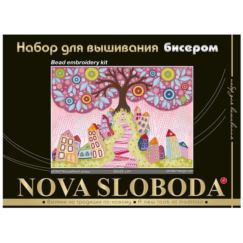 """Nova Sloboda - Набір для вишивки бісером """"Чарівний дощ"""" / фото №494"""
