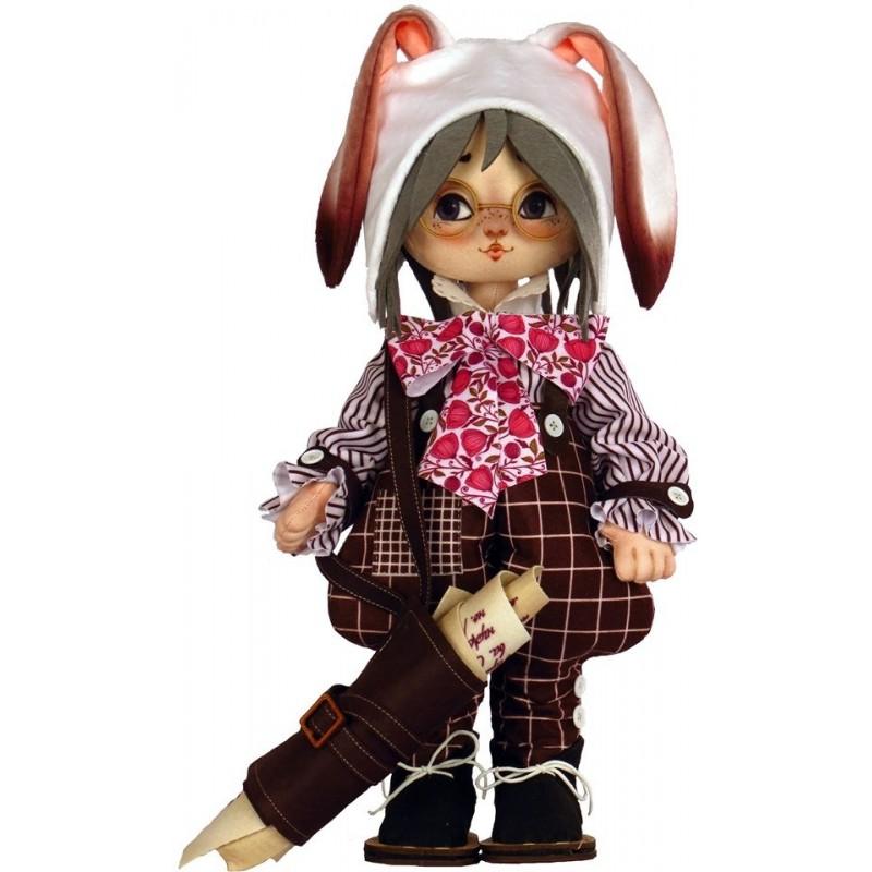 """Набор для шитья куклы """"Белый Кролик"""""""