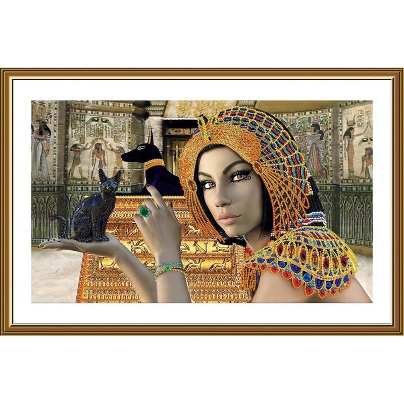 """Nova Sloboda - Набір для вишивки бісером """"Египтянка"""" / фото №5254"""