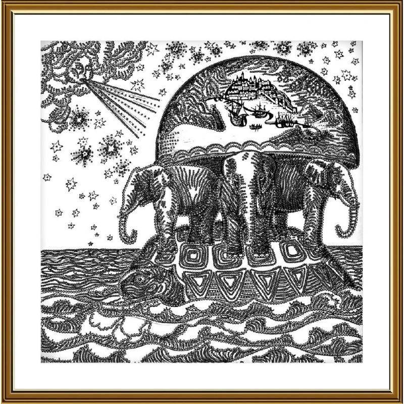 """Nova Sloboda - Набір для вишивки бісером """"Атланты Земли"""" / фото №5260"""