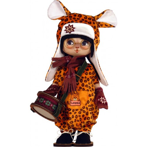 """Набор для шитья куклы """"Леопардик"""""""