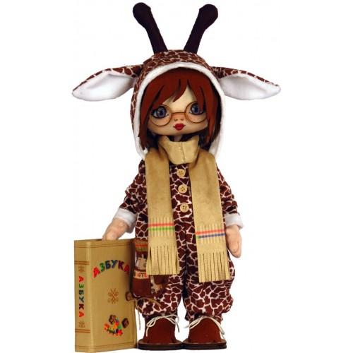 """Набор для шитья куклы """"Премудрый жираф"""""""