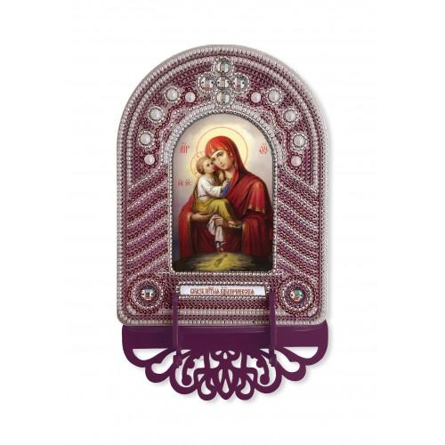"""Набор для создания иконы с вышитой рамкой-киотом """"Богородица Почаевская"""""""