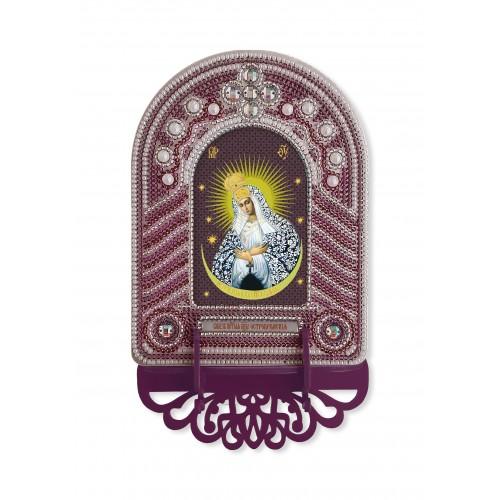 """Набор для создания иконы с вышитой рамкой-киотом """"Богородица Остробрамская"""""""