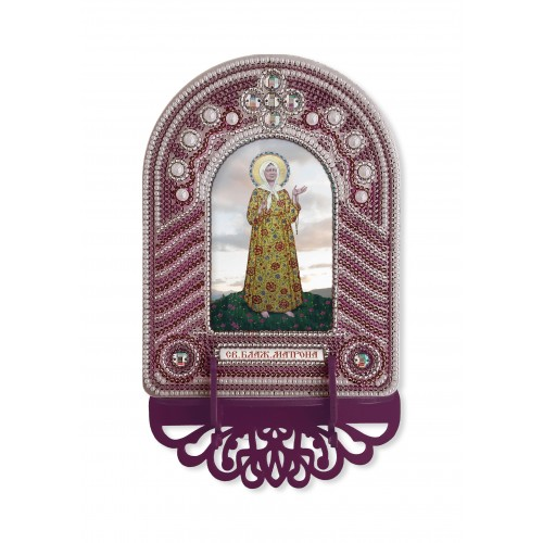 """Набор для создания иконы с вышитой рамкой-киотом """"Матрона Московская"""""""