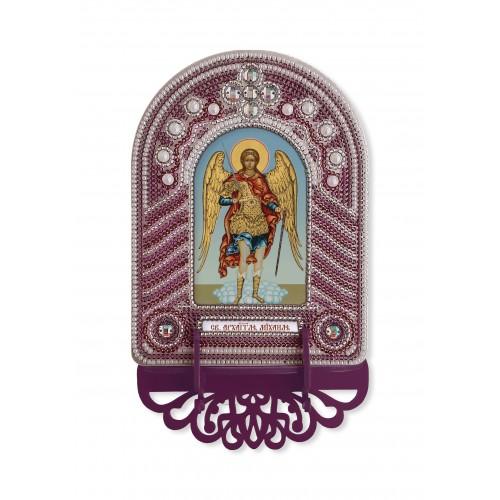 """Набор для создания иконы с вышитой рамкой-киотом """"Св.Архангел Михаил"""""""