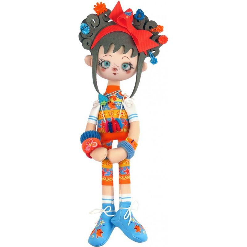 """Nova Sloboda - Набор для шитья куклы """"Апельсинка"""" / фото №5775"""
