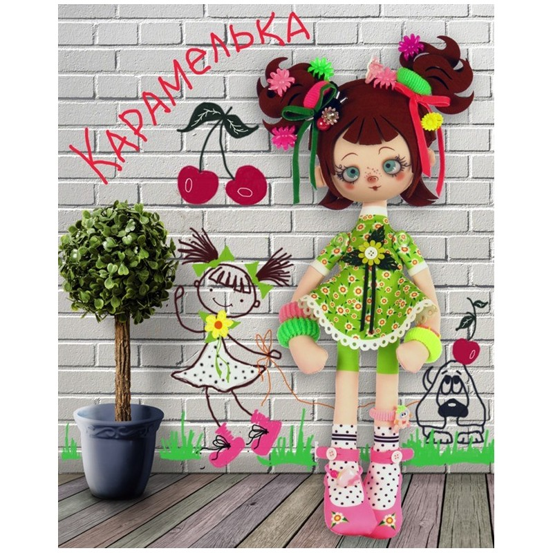 "Nova Sloboda - Набор для шитья куклы ""Карамелька"" / фото №5783"