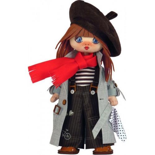 """Набор для шитья куклы """"Девочка. Дания """""""