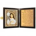 """Набор для вышивки икон в рамке-складне """"Богородица """"Трилетствующая"""""""