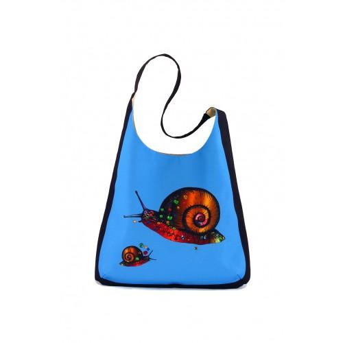"""Набор для декорирования сумки """"Виноградная улитка"""""""