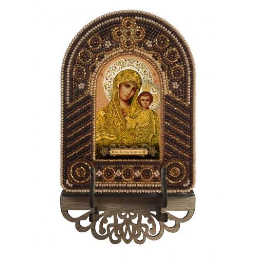 """Набор для создания иконы с вышитой рамкой-киотом """"Богородица Казанская"""""""