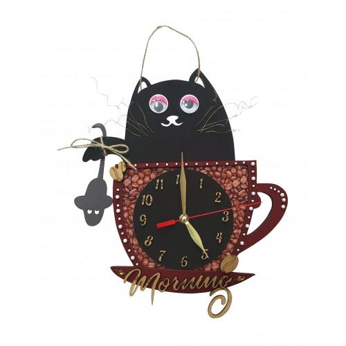 """Набор для вышивки часов """"Цветочное время"""""""