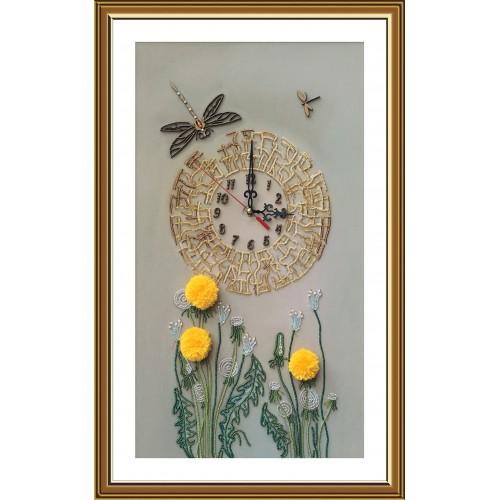 """Набор для вышивки часов """"Золотое время"""""""