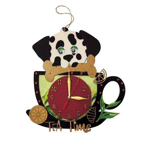 """Набор для вышивки часов """"Время чая"""""""
