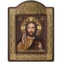 """Набор для вышивки икон в рамке-киоте """"Христос Спаситель"""""""