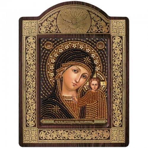 """набір для вишивки ікони в рамці-кіоті """"Богородиця Казанська"""""""