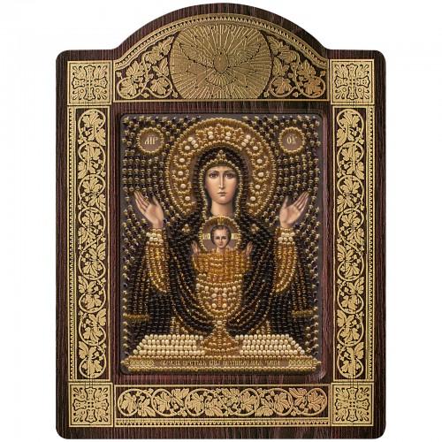 Набір для вишивки ікони в рамці-кіоті Ікона Прсв. Богородиці «Невичерпна Чаша»