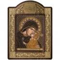 """Набор для вышивки икон в рамке-киоте """"Св. Анна с младенцем Марией"""""""