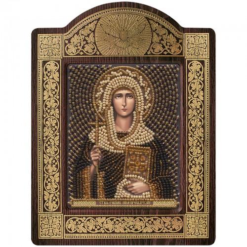 """Набор для вышивки икон в рамке-киоте """"Св. Равноап. Нина просвет. Грузии"""""""