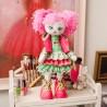 """Набiр для шиття ляльки на льняній основі """"Текстильна лялька """"Милашка"""""""