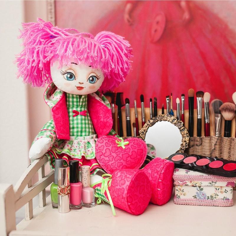 """Nova Sloboda - Набiр для шиття ляльки на льняній основі """"Текстильна лялька """"Милашка"""" / фото №706"""