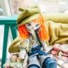"""Набiр для шиття ляльки на льняній основі -Текстильна лялька """"Модниця"""""""