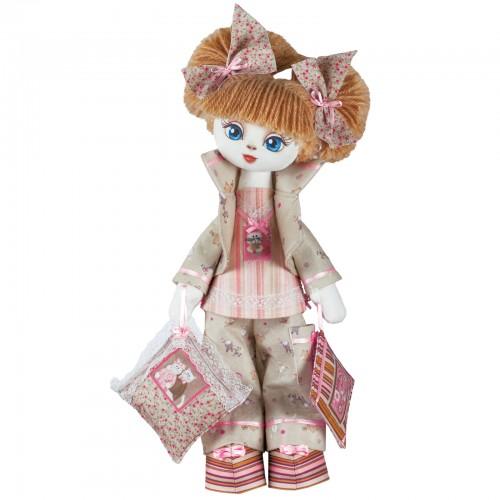 """Набор для шитья куклы на льняной основе. Текстильная кукла """"Соня"""""""