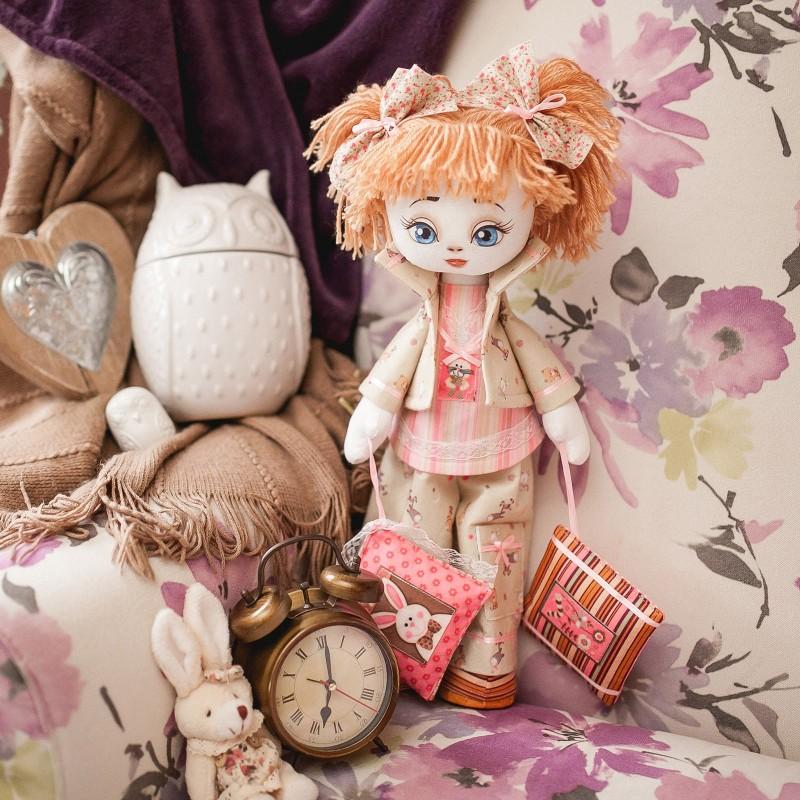 """Nova Sloboda - Набiр для шиття ляльки на льняній основі - Текстильна лялька """"Соня"""" / фото №748"""