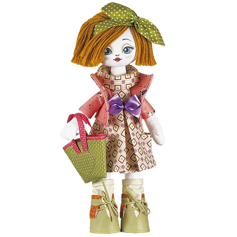 """Набiр для шиття ляльки на льняній основі - Текстильна лялька """"Господарочка"""""""