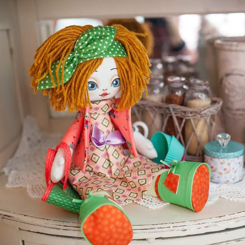"""Nova Sloboda - Набiр для шиття ляльки на льняній основі - Текстильна лялька """"Господарочка"""" / фото №753"""