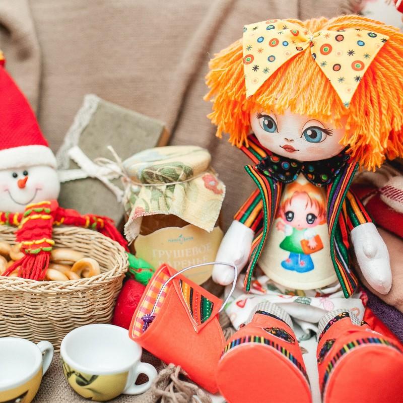 """Nova Sloboda - Набiр для шиття ляльки на льняній основі - Текстильна лялька """"Подружка"""" / фото №759"""