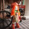 """Набiр для шиття ляльки на льняній основі - Текстильна лялька """"Мандрівниця"""""""