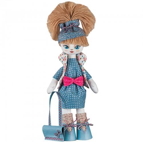"""Набор для шитья кукол на льняной основе. Текстильная кукла """"Умница"""""""
