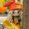 """Набір для шиття інтер'єрної каркасної ляльки """"Осiнь"""""""