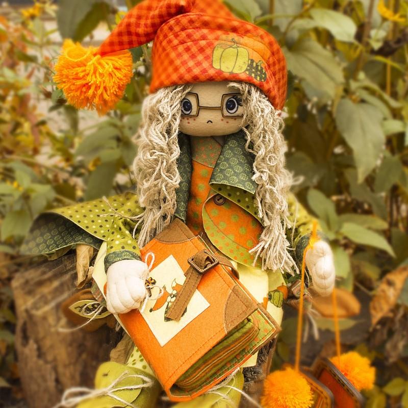 """Nova Sloboda - Набір для шиття інтер'єрної каркасної ляльки """"Осiнь"""" / фото №816"""