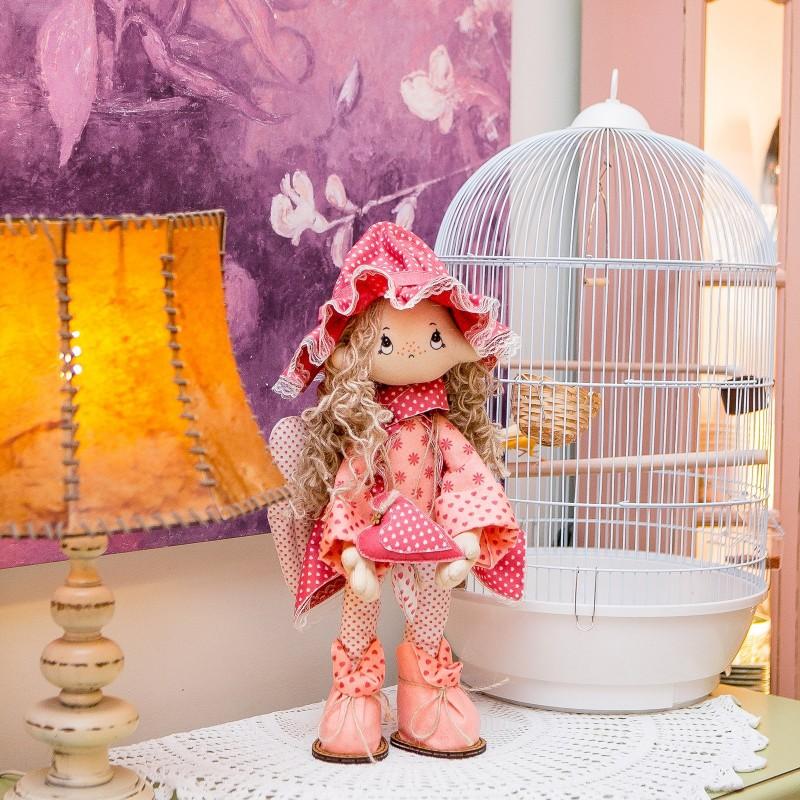 """Nova Sloboda - Набір для шиття інтер'єрної каркасної ляльки """"Ангелок"""" / фото №822"""