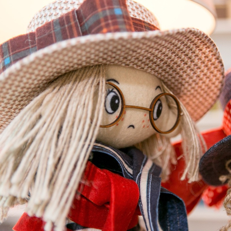 """Nova Sloboda - Набір для шиття інтер'єрної каркасної ляльки """"Том"""" / фото №846"""