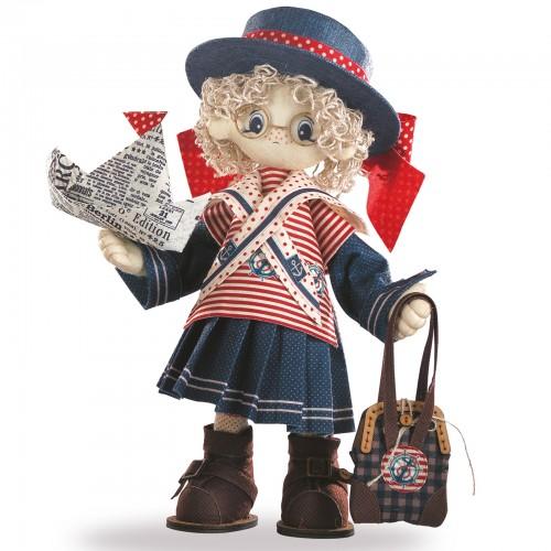 """Набір для шиття інтер'єрної каркасної ляльки """"Беккі"""""""