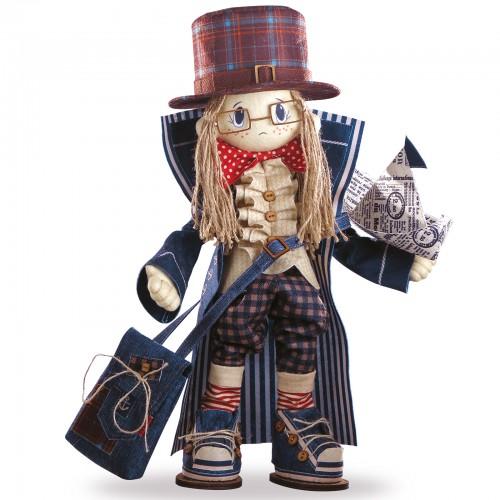 """Набір для шиття інтер'єрної каркасної ляльки """"Гек"""""""